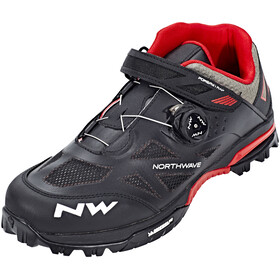 Northwave Enduro Mid Shoes Men black/red